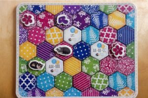Quilt board at the end of the game