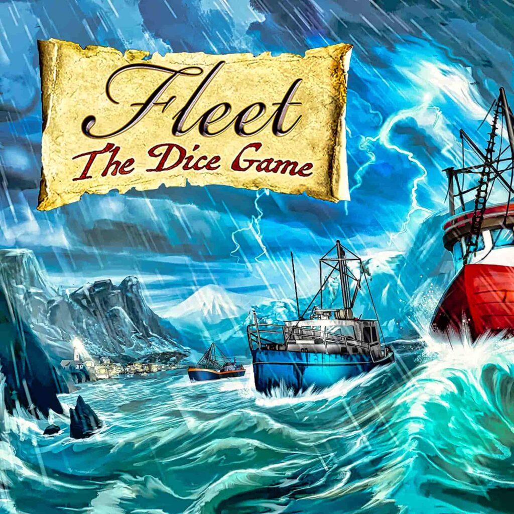 Fleet the dice game : boîte avant