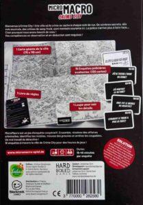 MicroMacro: Crime City : boîte de jeu