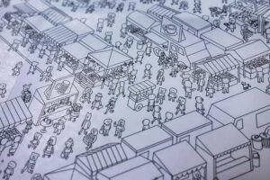 MicroMacro : Crime City : Zoom of the city