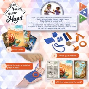 In the palm of your hand: back of the box