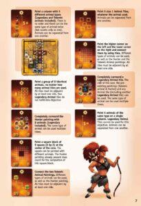prehistories : Description of the Objective cards