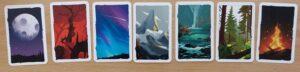 Paleo : Les différents dos de carte que vous allez trouver dans votre pioche