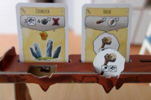 Paleo : Les cartes idées vont sur le râtelier pour pouvoir être construite