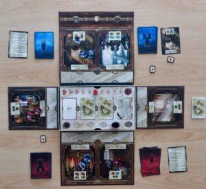 Roméo & Juliette : Le jeu en milieu de partie
