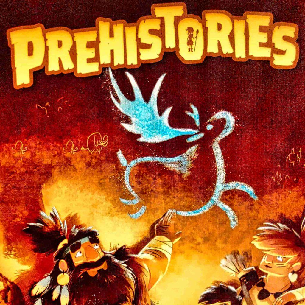 Prehistories boîte avant