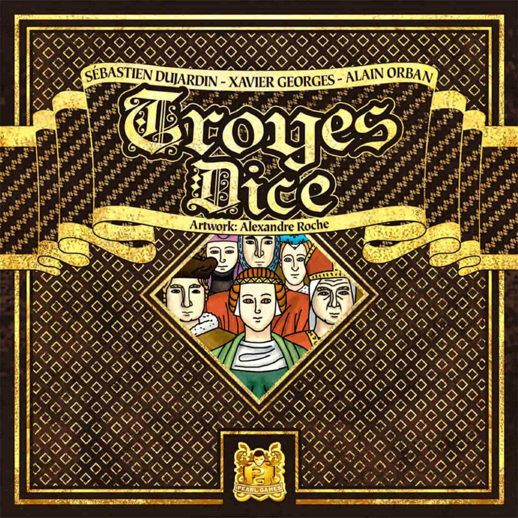 Troyes Dice : boîte avant