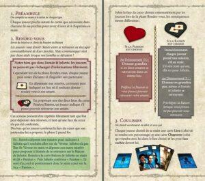 Roméo & Juliette :Une page de règle tirée du livret