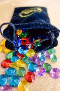 Reflets d'Acide ! : La fameuse monnaie du jeu : les gemmes