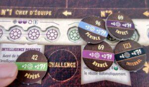 Reflets d'Acide ! : Le jeu vous proposera différents challenges : à vous d'en choisir un avant chaque partie