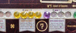 Reflets d'Acide ! : Dès que vous avez cumulé 4 gemmes d'une même couleur, vous pouvez utiliser le pouvoir associé