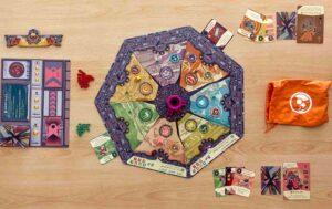 The Loop : La mise en place pour 2 joueurs