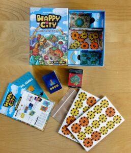 Happy City : Le contenu de la boîte