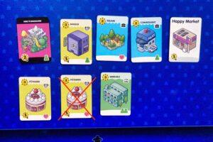 Happy City : Vous ne pouvez pas avoir 2 cartes identiques dans votre ville